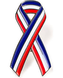 white blue ribbon great deals on usa white blue ribbon lapel pin