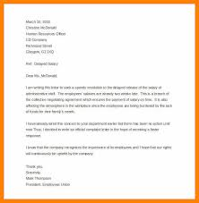 Formal Complaint Letter Format Sle how to write a complaint letter about an employee images letter