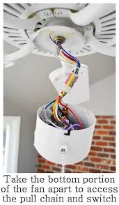 Ceiling Fan Light Pull Chain Switch How To Install A Ceiling Fan Light Pull Chain Integralbook Com