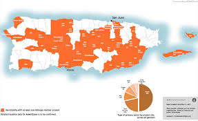 Where Is Puerto Rico On The Map Puerto Rico Response Update The Crisis Informatics 3w Map
