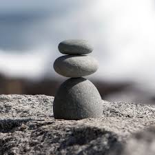 amazon com natural river rock cairn stone stacked zen garden