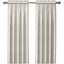 damask ivory and cream curtains u0026 drapes you u0027ll love wayfair