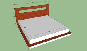 Queen Size Platform Bed Queen Size Platform Bed Plans Bed Plans Diy U0026 Blueprints