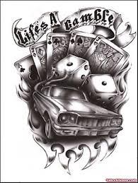 pinupgirl and dice tattoos designs viewer com