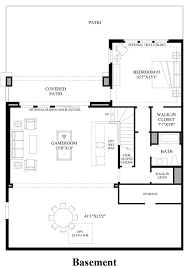 the overlook at firerock the rushmore estate home design basement floor plan