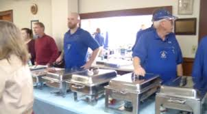 masons in hermon serve free meal for 300 on thanksgiving