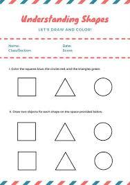 worksheet templates canva