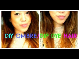 preference wild ombre on short hair how to diy ombre dip dye hair l oreal wild ombre youtube