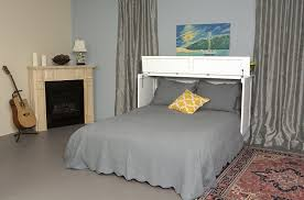 essex queen murphy cabinet bed white by arason furniture