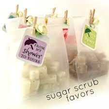 baby shower favors mini sugar scrubs 3 00 each unique