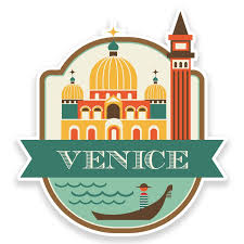 travel stickers images 2 x 10cm venice italy vinyl sticker luggage travel tag label car jpg