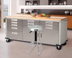 Costco Storage Cabinets Furnitures Using Astounding Rolling Workbench For Exciting Home
