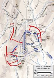 Battle Of The Bulge Map Battle Of Gettysburg Second Day Wikipedia
