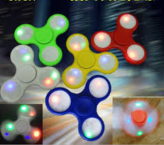 cool light up things light up fidget spinner needful things