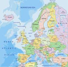 Map Of Europe Countries Map Europe
