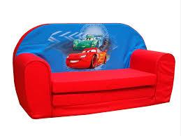 canapé enfants disney canapé convertible cars