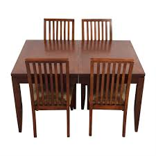 macy s patio furniture clearance 74 off macy u0027s macy u0027s wood dining set with extendable leaf and