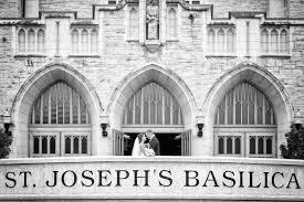 wedding arches edmonton st joseph basilica wedding edmonton kristin wyatt blue