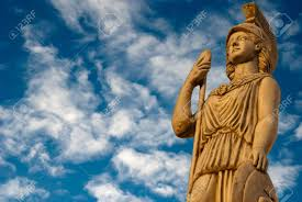 roman goddess of wisdom stock photos royalty free roman goddess