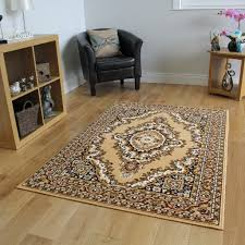 beige brown persian style traditional rug small large xxl mats