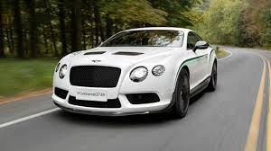 white bentley back first drive bentley continental gt 4 0 v8 gt3 r 2dr auto 2014