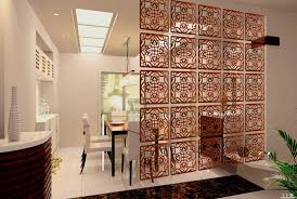 contemporary hanging room screen divider for modern dining room