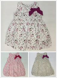 2018 newest baby dresses children printed flower dress cheap price