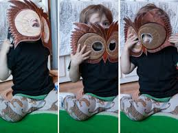 kid owl costume