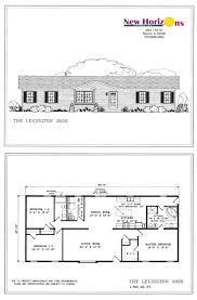 ranch house plans home design mas1035 elev luxihome model homes floor plans marion il new horizons inc ranch house elevation the lexington ranch house