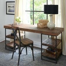 bureau bois acier bureau bois brut table design unique table pas bureau dangle bois