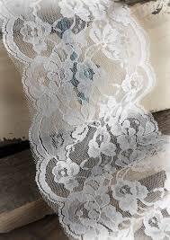 wide lace ribbon white lace ribbon trim 6 x 10 yards