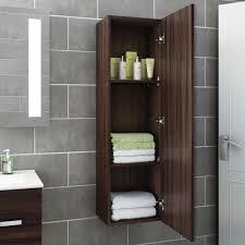 Bathroom Furniture Walnut by 1200mm Tall Walnut Wall Mounted Bathroom Furniture Cabinet Storage