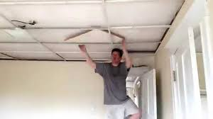 time lapse video removal drop ceiling tiles youtube
