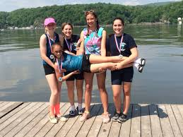 cornwall rowing club girls 4 1st place hvrl novice championship