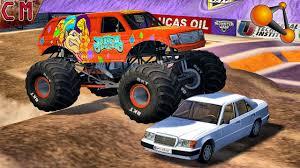 monster truck crash videos youtube monster truck fun crashes monster jam beamng drive 2 youtube