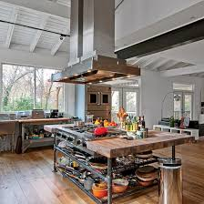 industrial kitchen islands best 25 industrial kitchens ideas on contemporary