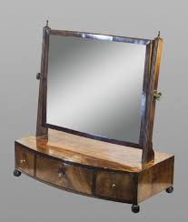 dressing table with mirror and drawers regency mahogany dressing table mirror with drawers 199094