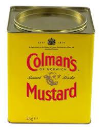 colman s mustard colman s mustard powder 2kg unilever food solutions uk