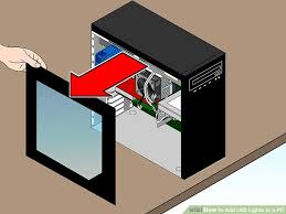 how to add led lights to a pc 6 steps with pictures wikihow