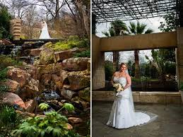 Dallas Botanical Gardens Wedding Bridal Portraits At The Dallas Arboretum And Botanical Garden