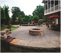 Large Patio Design Ideas by Backyards Fascinating 20 Best Stone Patio Ideas For Your