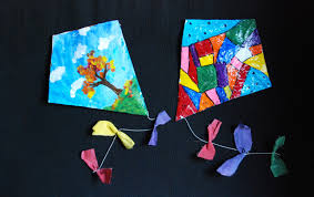 that artist woman finger kites