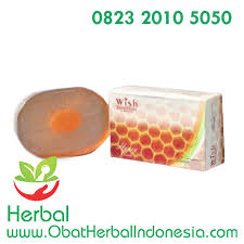 Sabun Wish honey transparent soap wish sabun alami dan aman dengan banyak