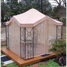10 X 12 Gazebo Lowes by Lowes 10 X 10 Garden Treasures Replacement Canopy Garden Winds