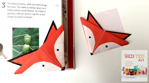 fox crafts easy origami bookmark youtube