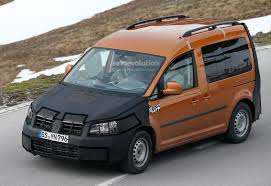 volkswagen caddy 2015 spyshots new volkswagen caddy interior revealed autoevolution