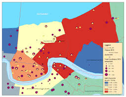 New Orlean Map by Friday Afternoon Maps New Orleans Race And Locations