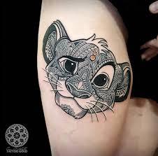 the 25 best disney thigh tattoo ideas on pinterest disney