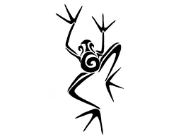 27 best frog tribal tattoos images on pinterest crafts fun
