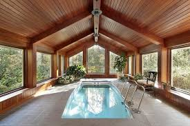 enclosed pool 45 screened in and covered pool design ideas